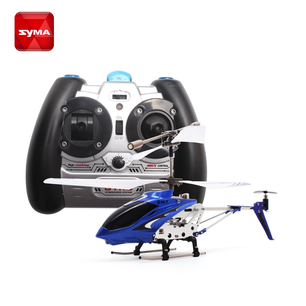 Original Syma S107G Mini Gyro Metal Infrared Radio 3CH Helicopter RC Remote Control Flying Drone for Kids Toys Gift Present RTF syma 107e remote control mini drone 3ch rc mini helicopter gyro crash resistant baby gift toys smallest helicopter kid air plane