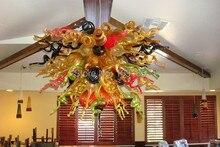 vintage led lampen mundgeblasenem glas kronleuchter murano glas beleuchtung braun farbe indien kronleuchter - Kronleuchter In Indien