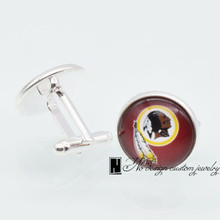Buy Redskins Cufflinks And Get Free Shipping On Aliexpresscom