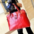 4 Color 2017 New Brand Casual Solid Women Leather Handbags Ladies Tote Casual Bolsa Feminina Vintage Women Messenger Bags A1250