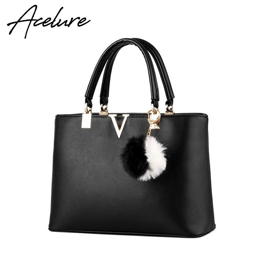 ACELURE Woman font b Handbags b font font b Set b font V Brand Leather Messenger