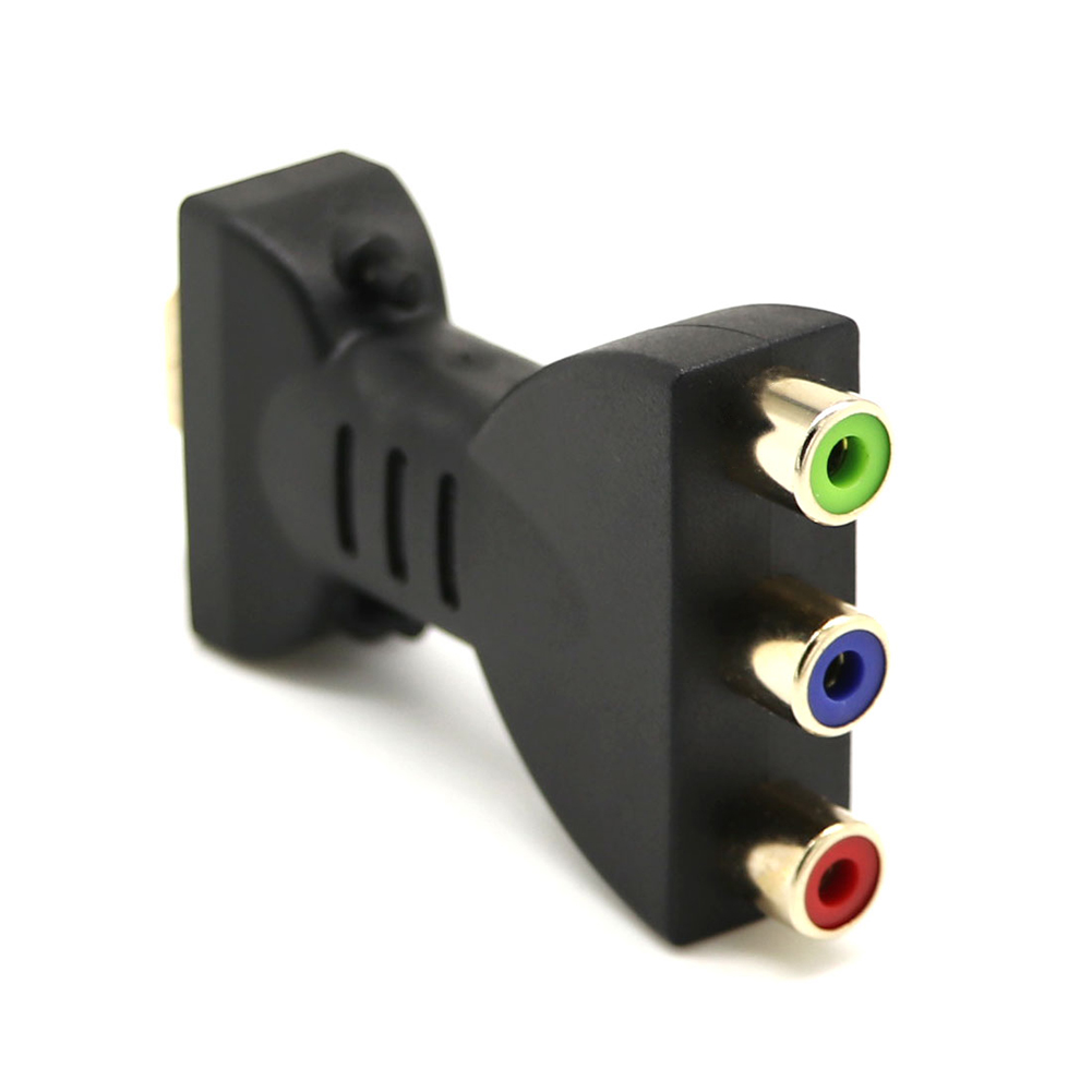 HDMI Male To 3 RCA Video Audio AV Cable Adapter For HDTV DVD LCD Projector Camera GT66