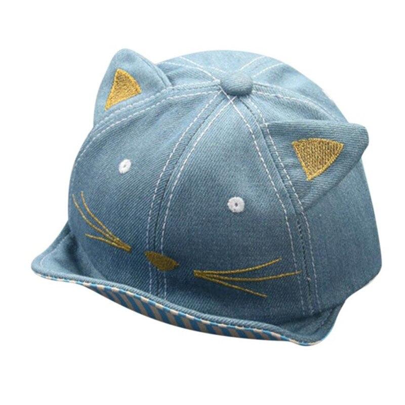 Baby Beanie For Boys Girls BASEBALL CAP Cat Stripe Hat Children Hats baby autumn winter hat fantasia infantil menino