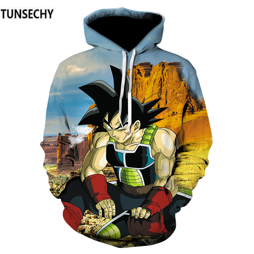 TUNSECHY Dragonball hoodies for men and women with dragonball sun wukong 3D digital printing fashion Hoodies Sweatshirts