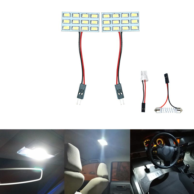car styling Bulb Light Dome reading light Car Interior <font><b>LED</b></font> panel for <font><b>Renault</b></font> Captur Megane <font><b>2</b></font> 3 <font><b>Scenic</b></font> <font><b>2</b></font> SEAT Leon Altea Alhambra image