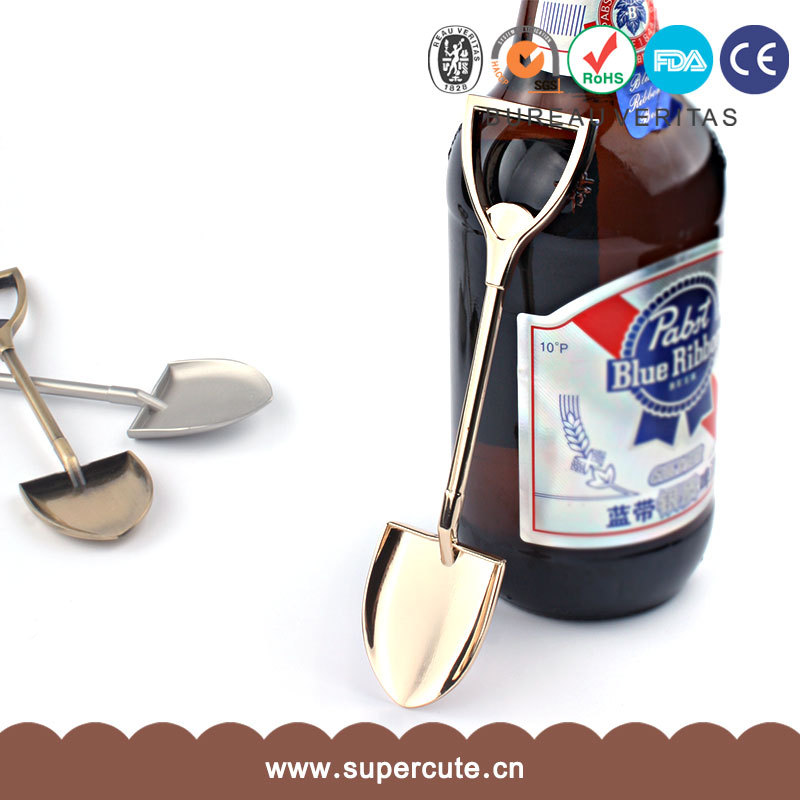 New product innovation, shovel bottle opener, bottle opener.