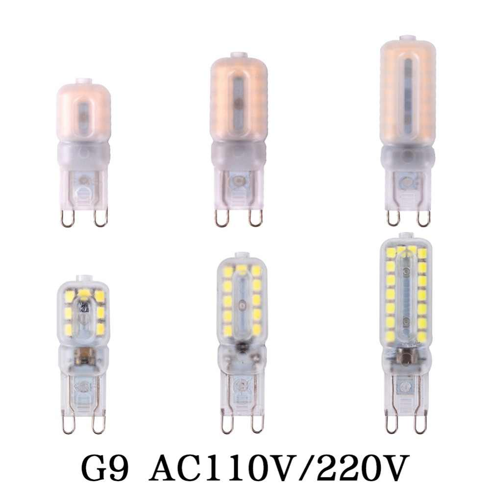 G9 G4 Led Corn Bulb Chandelier Lamp Spotlight 110V 220V COB 14LEDs 22LEDs 32LEDs SMD 2835 Replace 20W 30W 40W 50W Halogen Light