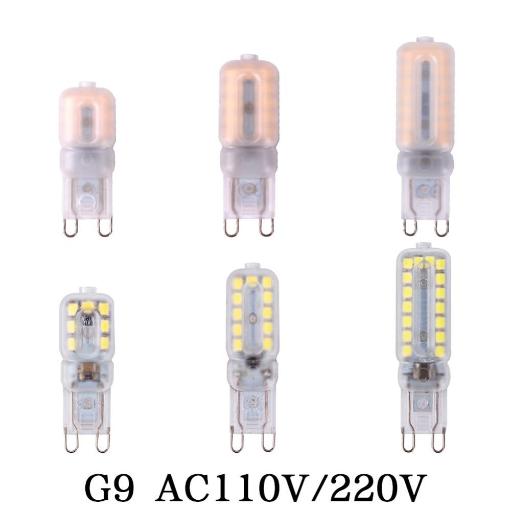 G9 G4 Led Corn Bulb Chandelier Lamp Spotlight 110V 220V COB 14LEDs 22LEDs 32LEDs SMD 2835 Replace 20W 30W 40W 50W Halogen Light