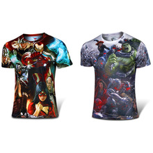 FW PNYS short sleeve super hero t shirt summer top cosplay clothes knight rider