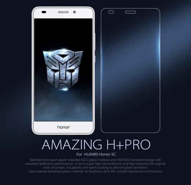 NILLKIN Закаленное Стекло Против Взрывов Удивительный Н + PRO Протектор Экрана для HUAWEI Honor 5C/6X
