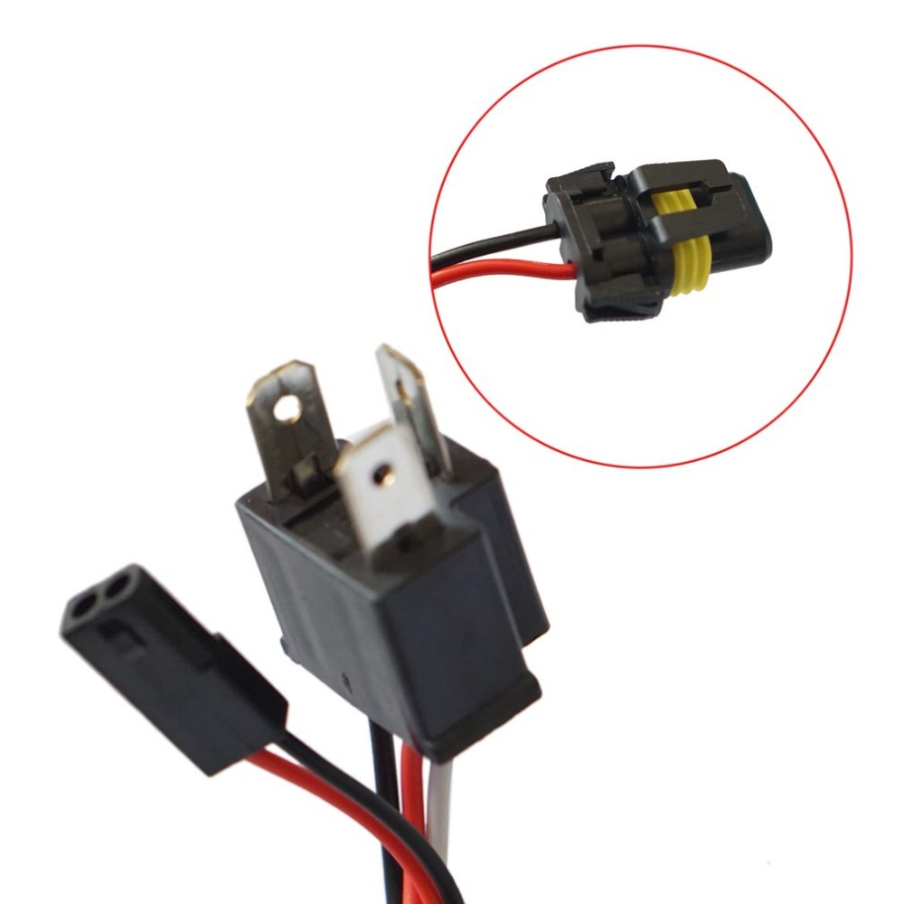 Telescopic Hid Bixenon H4 Wiring Harness Controller For Car Auto Headlight Retrofit Connector Dc 12v In Cables Adapters Sockets From Automobiles