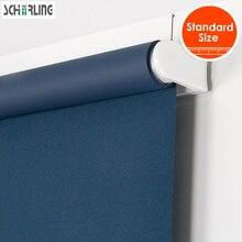 High Quality SCHRLING Spring System Cordless Roller Blinds Child Safety Blackout Light filtering Fabric for Roller Blinds