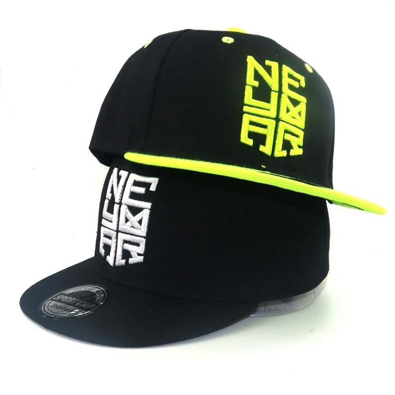 2018 Brand hat Children Soccer Star Neymar NJR caps bone Embroidery Kids Baseball Cap Hat Boys Girls Sports Snapback Hip-hop Cap bone para bordar