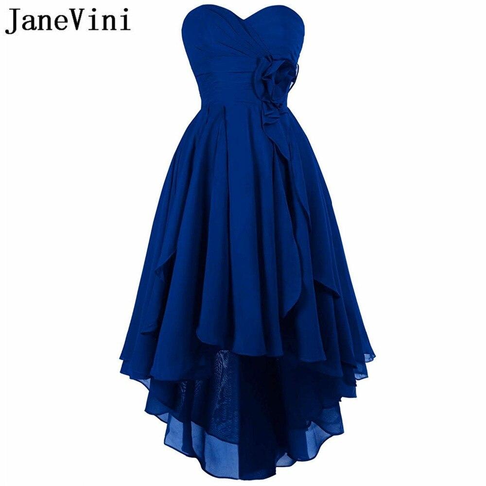 c122f7df822 Femmes Cheville En De As Invité Blue same Soie Picture Royal Pour Robe  Backless Mariage royal Chérie Janevini Simple Mousseline ...