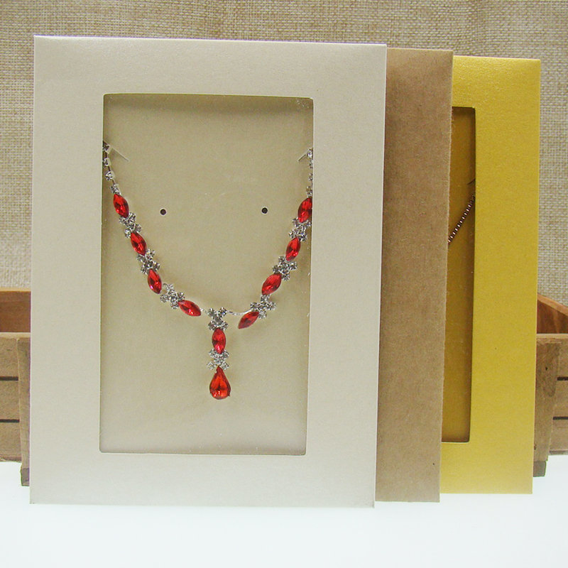 20PCS New Jewelry Envelop Box Black /pink/kraft/white /yellow/ Necklace Package /jewelry Pendant /invitation Card /CD Storage