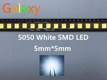 1000 pces 5050 smd led diodos smd 5050 branco/natureza branco led cct: 4000-4500k 0.2w-60ma 5050 nw