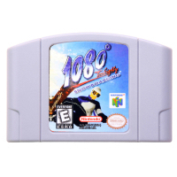 N64Game 108 Snowboarding Video Game Cartridge Console Card English Language US Version (Can Save)