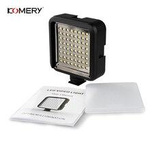 5 шт. камеры заполняющий свет KOMERY Вспышка видеокамеры 64 светодиодный видео свет мягкий свет подходит для камеры s и видеокамеры