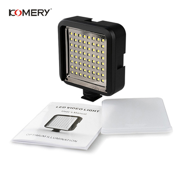 5 Pieces Of Camera Fill Light KOMERY Video Camera Flash 64 LED Video Light Soft Light Suitable For Cameras And Camcorder