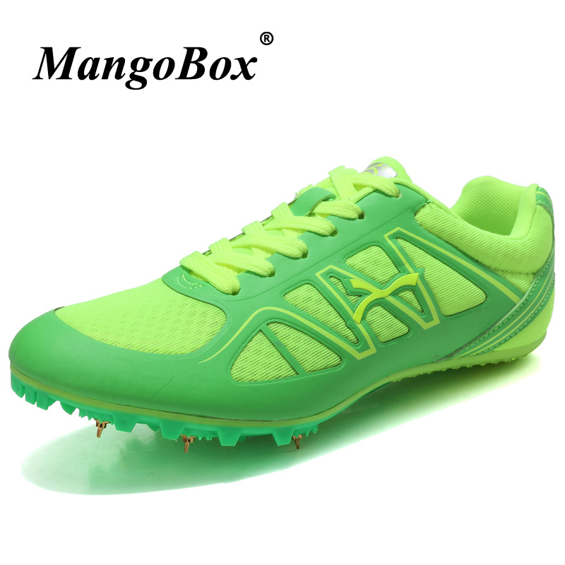 Running Spring Unisex Running Nails Sneakers Weight Light Men And Women Track And Field Shoes Pu Leather Spikes Tenis Running Shoes