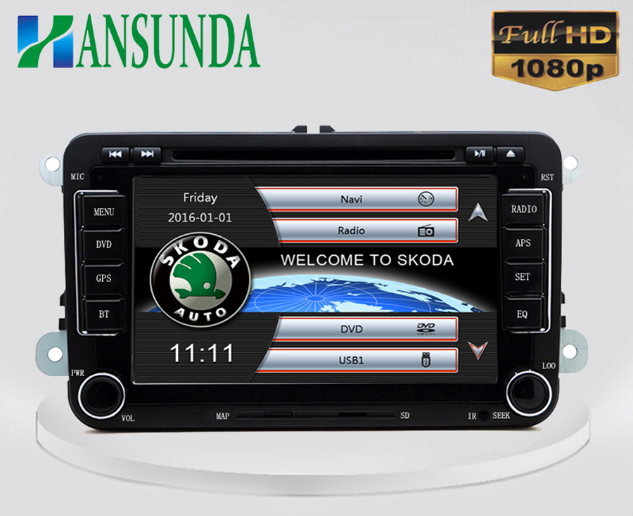 7 inch gps dvd with 3g wifi for skoda fabia superb vw volkswagen golf 5 6 7 passat b6 b7 cc. Black Bedroom Furniture Sets. Home Design Ideas
