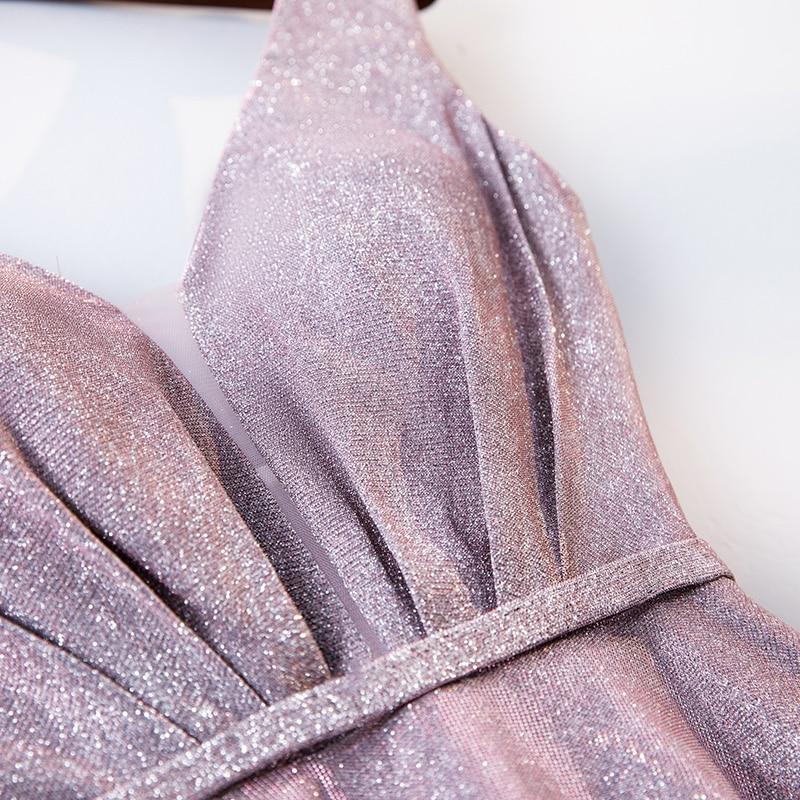 Fuchsia Bling Prom Dresses Dubai Long Off Shoulder Arabic Evening Party Gowns 2018 Elegant Gold Sequins