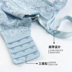 Image 5 - JYF Brand High quality japan bra set seamless solid push up women underwear set sexy lace deep V lingerie bra brief sets