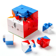 Qiyi Cube 57cm Cyclone Boys 3x3x3 Magic Cube Professional Difficult Puzzle Speed Cubes 3x3 Puzzles 3 By 3 Puzzles SpeedCube цена 2017