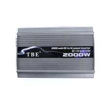 TBE 2000 Вт автомобильный инвертор постоянного тока 24 В в переменный 220 в компактный портативный автомобильный инвертор зарядное устройство конвертер адаптер Модифицированная синусоида