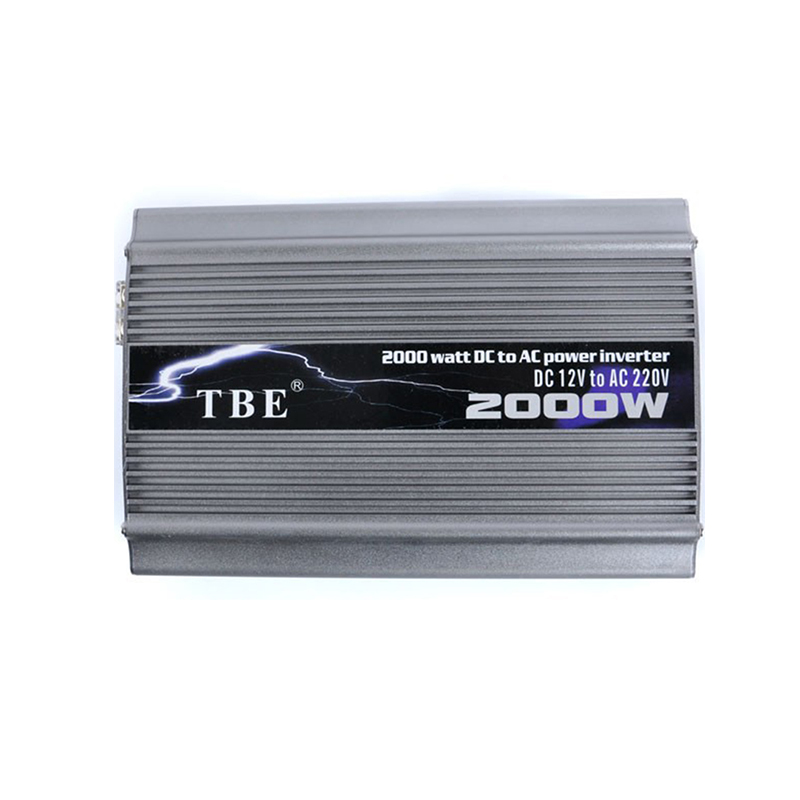 TBE 2000W DC 12V 24V 48V TO AC 220V 110V Compact Portable Auto Power Inverter Charger Converter Adapter Modified Sine Wave corta cinturon de seguridad