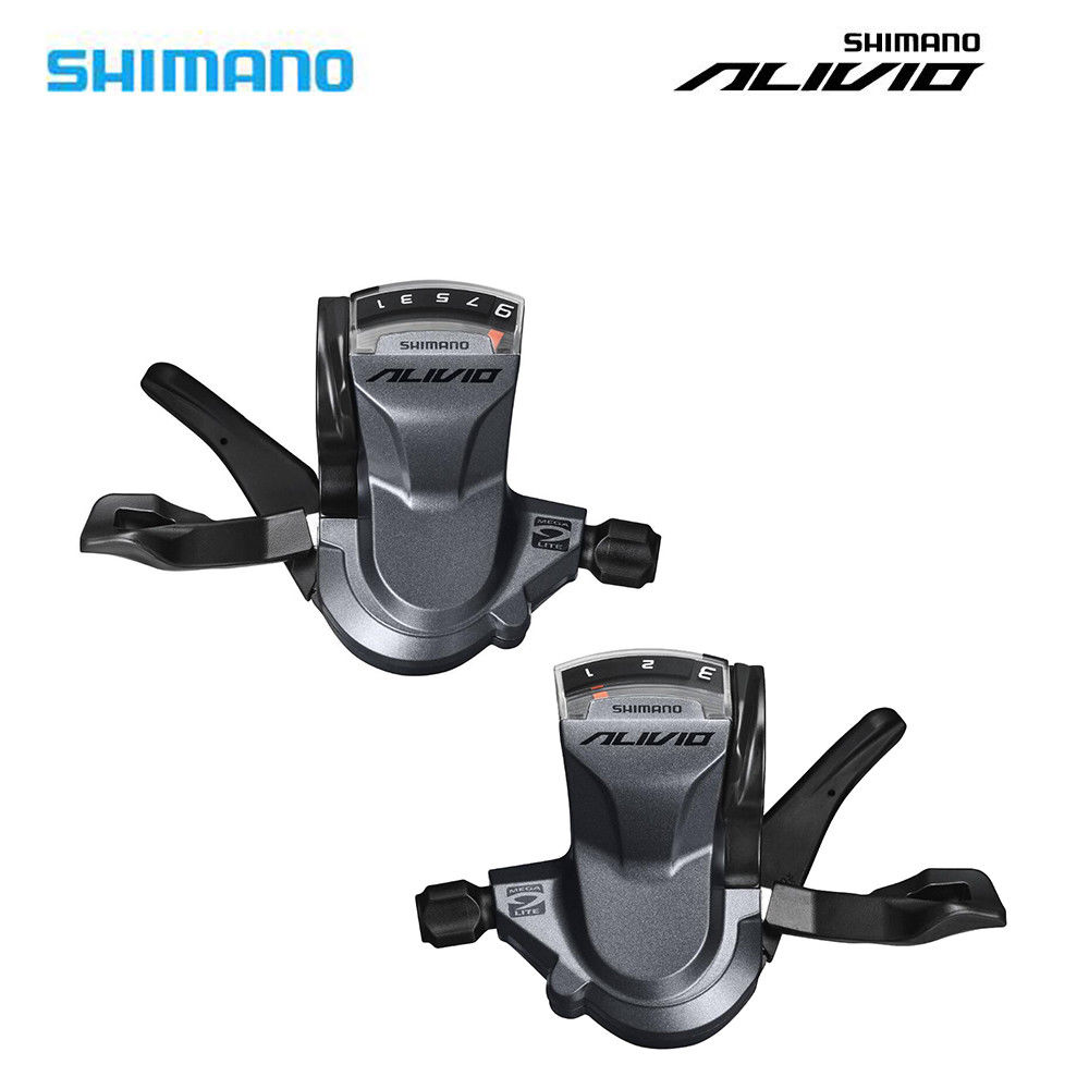 Bicycle Derailleur Sports & Entertainment Dashing Original Shimano Alivio Bicycle Sl-m4000 3x9s 27-speed Bike Shifter Lever Trigger Left/right/a Pair