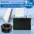 Sanqino Nova Chegada 3G Cell Phone Signal Booster GSM 900 2100 W-CDMA 3G Amplificador de Sinal de Reforço Dual Band 3G