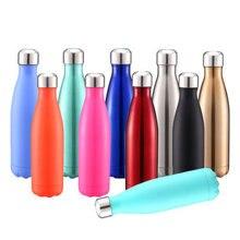 500 мл вакуумная фляжка, Термокружка Из Нержавеющей Стали с теплоизоляцией, бутылка для напитков, термос, вакуумный, портативный