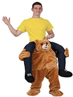 Carry Mascot Costume Ride on Teddy Bear Costumes Adult Animal Funny Dress Up Fancy Pants Costume