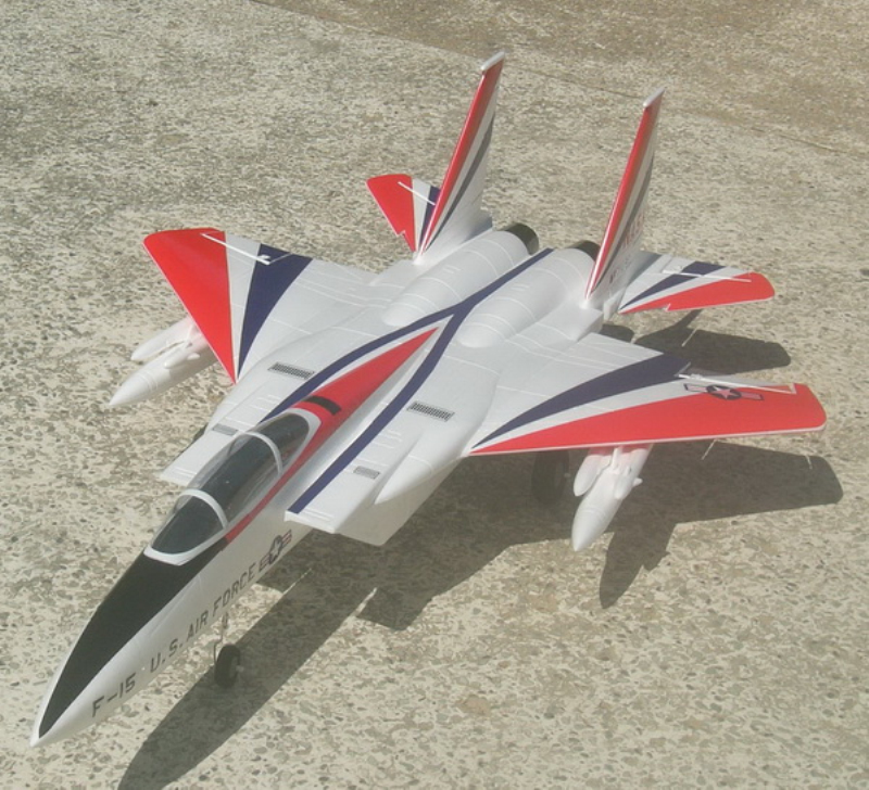professional 2.4G 6ch 110cm big remote control rc airplane F15 plane toy model fighter kids child best gift toy play aircraft to