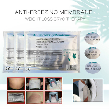 High Quality !!! Anti Freeze Membrane Film Cavitation Fat Cryo Cooling Weight Loss Therapy Cryo Pad Antifreeze Cooling Gel Film
