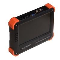 X41A CCTV AHD Camera Tester 7inch LCD Analog Video Test 12V Power Output Cable Test HD AHD HDMI VGA CVBS Monitor testor 1080P