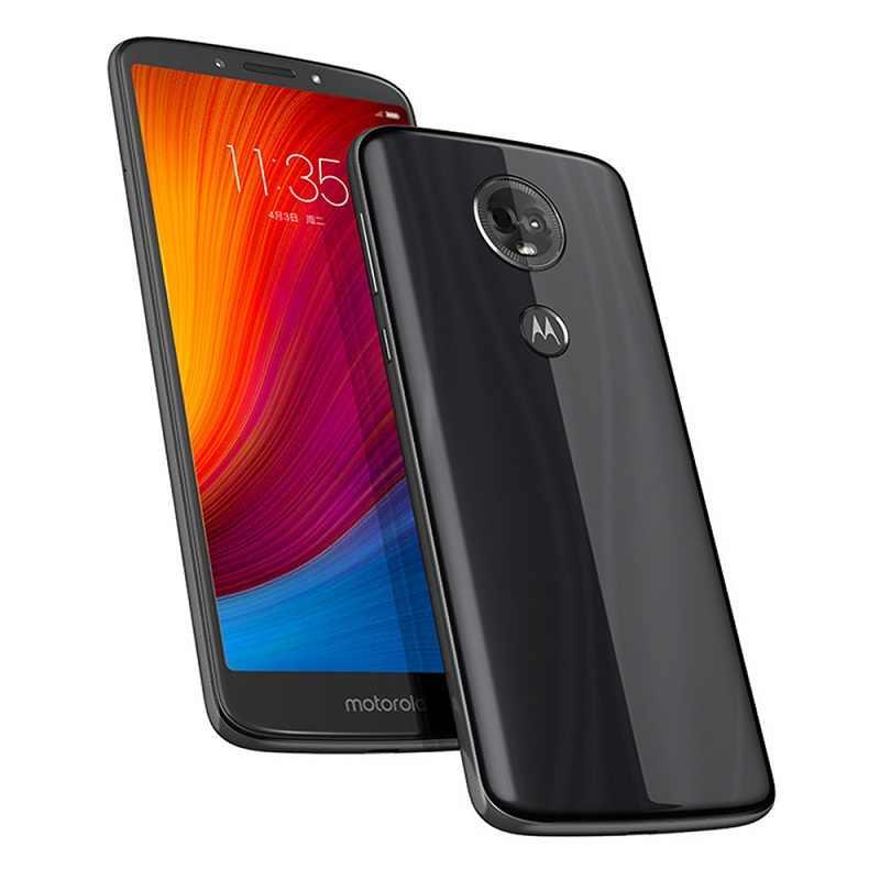Motorola MOTO E5 PLUS 6.0 Pouces 4 GB RAM64 GB ROM Mobiel Double caméra Snapdragon 430 octa Core 12.0MP + 5.0MP 5000 mAh pas mise à niveau