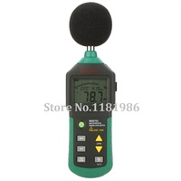 MASTECH MS6702 Digital Sound Level Meter Lärm Meter dB Decible Meter Tester Temperatur Feuchtigkeit Meter Thermometer-in Schallpegelmesser aus Werkzeug bei