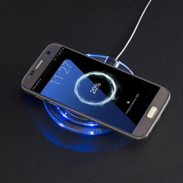 Универсальный Ци Беспроводное Зарядное Устройство Док Зарядки Pad Мобильный Телефон Адаптер Wirless зарядка Сотового для Samsung Galaxy S7 S6 edge Note 4 5