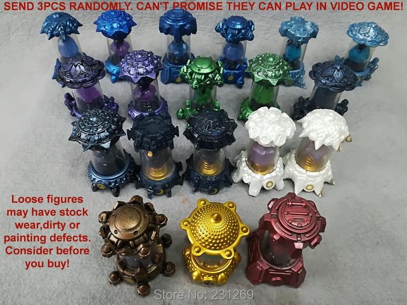 PVC Model Action-Figures Skylanders Collection-Toys Crystal Imaginators SEND Kids Gift