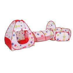 2019 i più nuovi Per Bambini All'aperto Tenda Tunnel Portatili Per Bambini Gioco Tenda Del Capretto Tende a Tunnel Bambini Crawling Casa del Gioco della Tenda