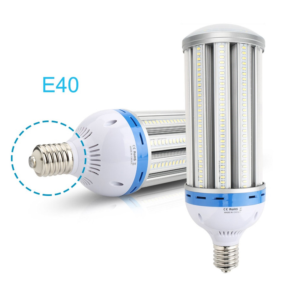 E40 LED Corn Light 80W 100W 120W SMD5730 AC85-265V Warm/Cold White 360 degree High Power Corn Bulb Lamp LED Fixture lexing e14 7w 540lm 14 smd 5730 led warm white light bulb ac 85 265v
