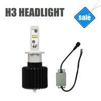 H3 LED Automobile Headlights LED Cars Bulbs High Quality Super Bright 6000K White Light Easy Install