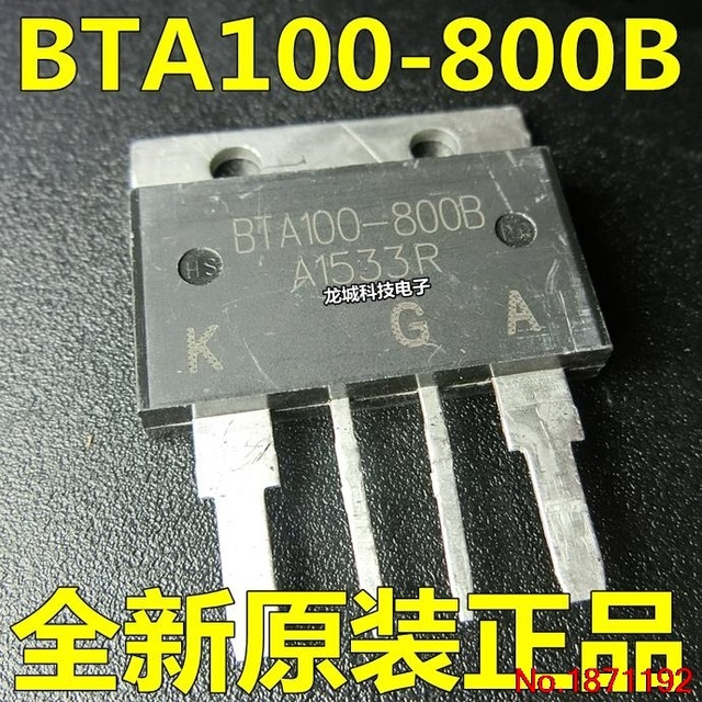 Bta100 800b - 10pcs/lot BTA100-800B BTA100 BTA100-800 100A 800V bidirectional controllable  large current 100% new original