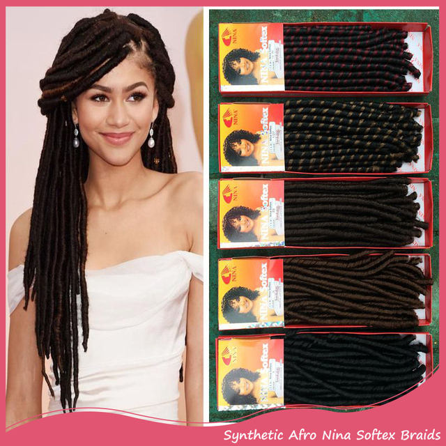 1pc nina softex synthetic hair 14inch black color crochet braids 1pc nina softex synthetic hair 14inch black color crochet braids curly hair extensions for women african pmusecretfo Images