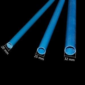 Image 2 - الأزرق/الأبيض أنبوب كلوريد متعدد الفاينيل OD 20 مللي متر 25 مللي متر 32 مللي متر الزراعة حديقة الري أنبوب خزان الأسماك انبوب ماء 48 50 سنتيمتر 1 قطعة