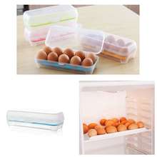 Recommend Refrigerator kitchen 10 grids egg storage box container tray plastic carrier cases