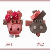 50 pcs new style BLESSING Good Girl Bug Clip Little Pony Minions Hippopotamus Robot Monster