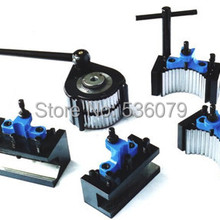 Contain Lathe-Swing Quick-Change-Tool 5pcs:1pcs-Tool-Post Post-Set 4pcs-Holder And TOOE5